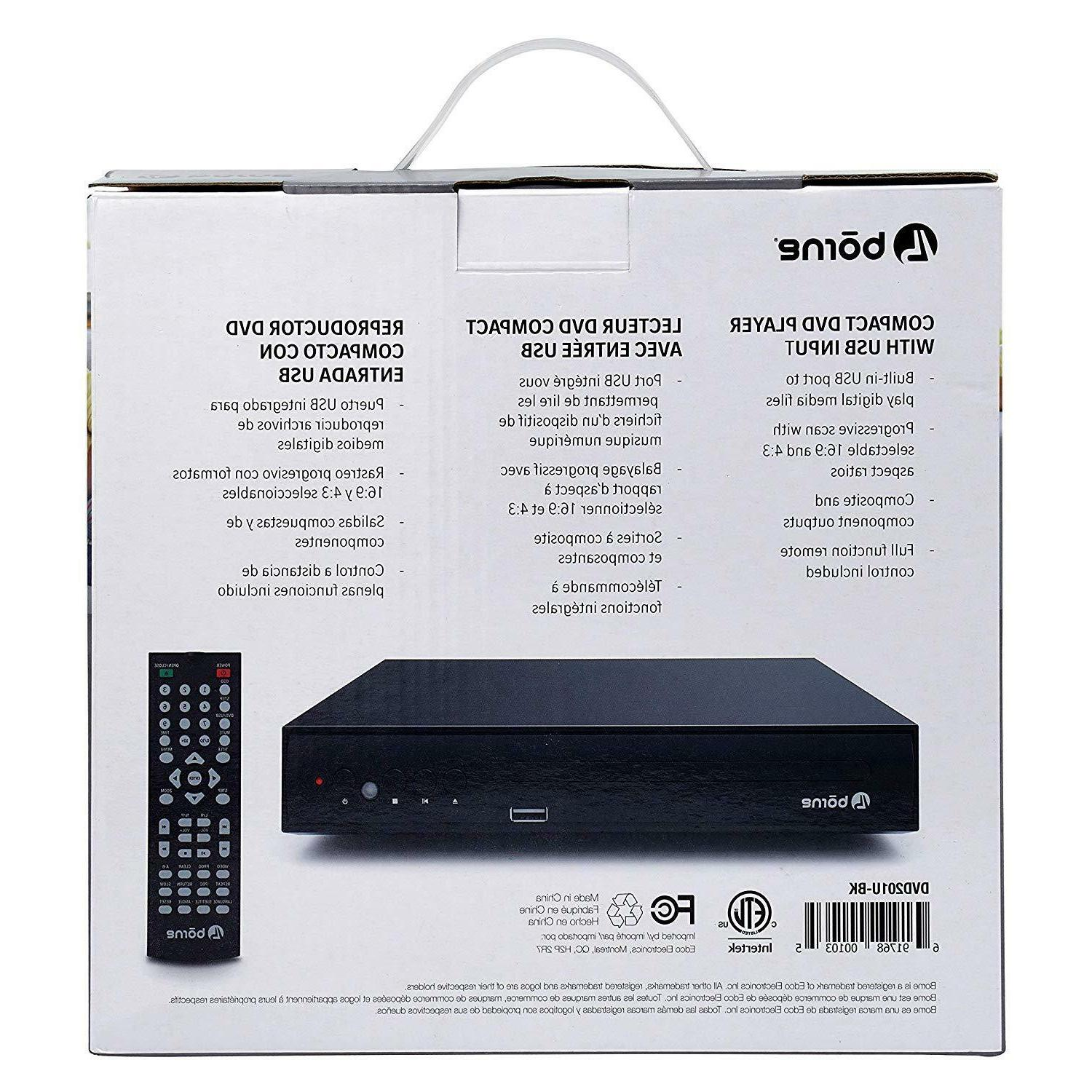Borne TV Compact, Front