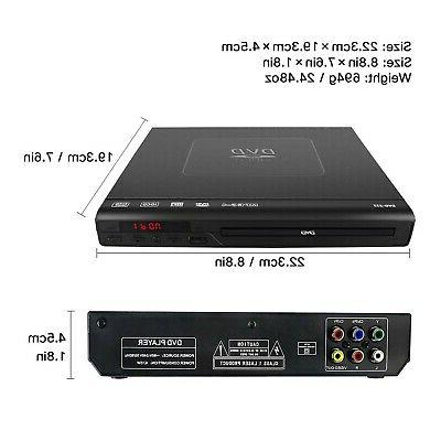 DVD Player for TV,Bencse Compact CD/Disc with Remote Built-in