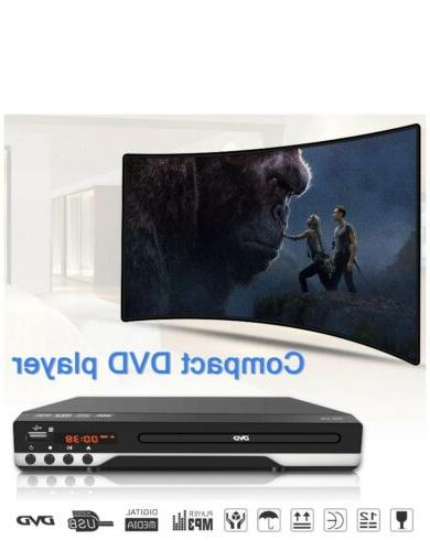 DVD Player - Multi Region Digital DVD Remote Control USB Port