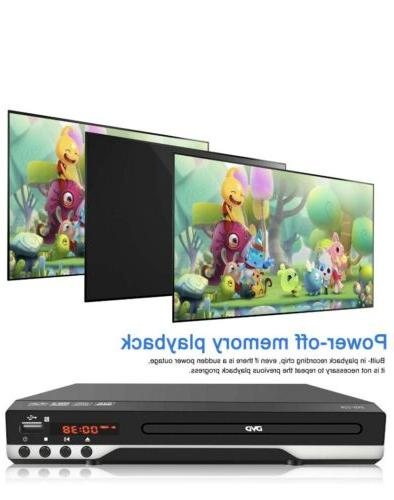 DVD for TV - Multi DVD Player with Remote