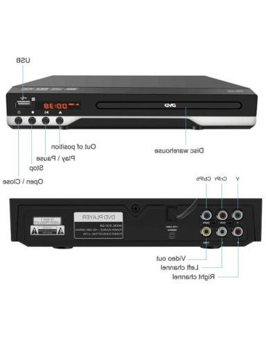 DVD Player - Multi DVD Player with