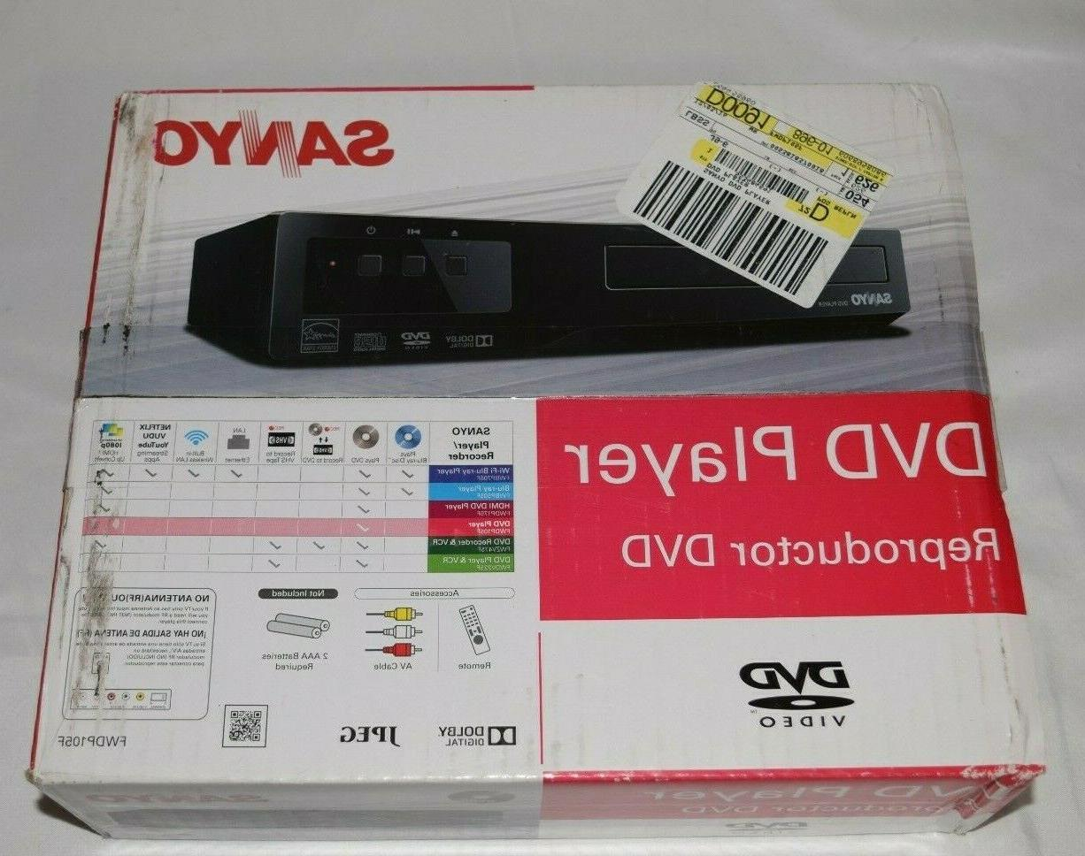 dvd player fwdp105f brand new free shipping