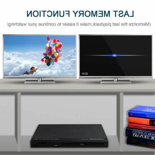 DVD Player,Foramor Player TV Support 1080P HD HDMI
