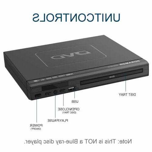 DVD Player,Foramor DVD Player Support 1080P HD HDMI Cable