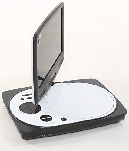 Impecca Swivel Screen, Portable DVD Player with SD Card Slot and USB