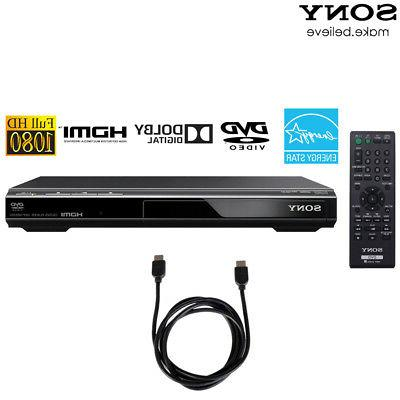 Sony DVPSR510H - DVD Player with 6ft High Speed HDMI Cable