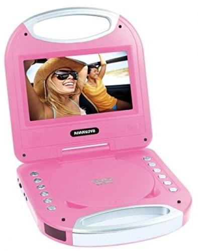 Portable DVD Player W Handle Electronics Recorders Entertain