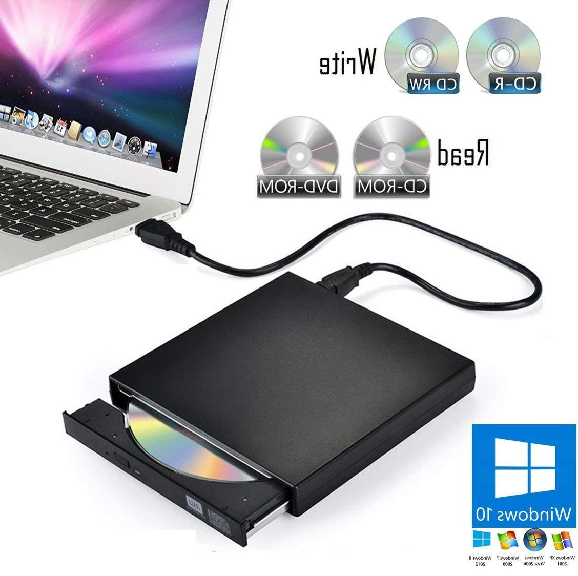 External USB DVD-ROM Drive Player & CD-R