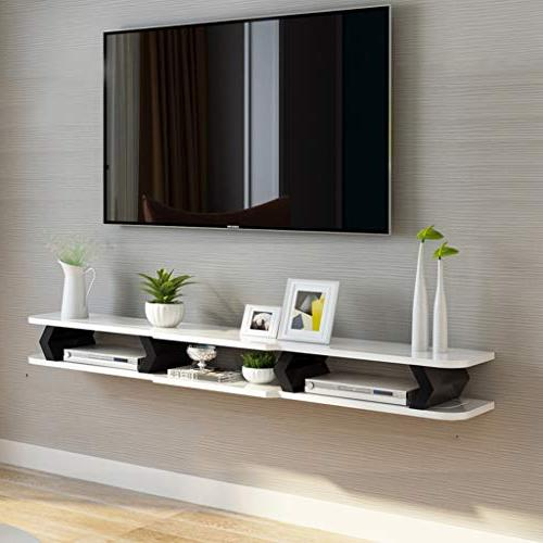 Floating Shelf Wall TV Wall for DVD/Blu-Ray TV