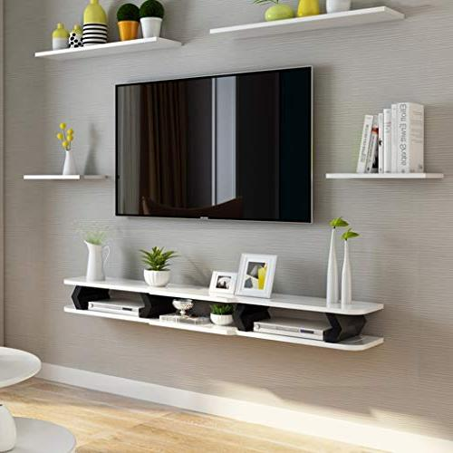 Floating Shelf Wall Mount Wall for TV Cable Box