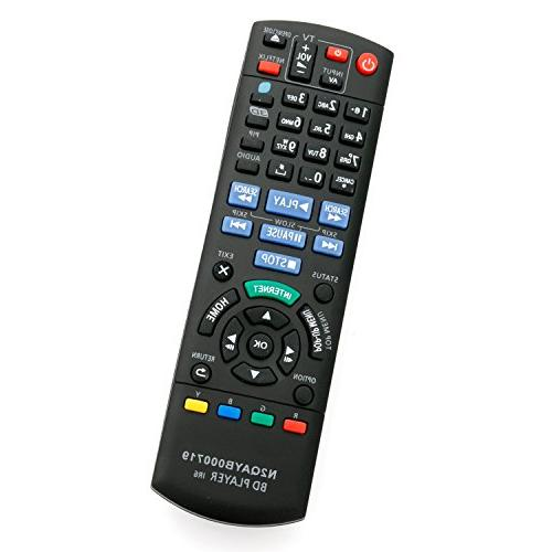 N2QAYB000719 New Replaced Remote for Panasonic Blu-ray Disc