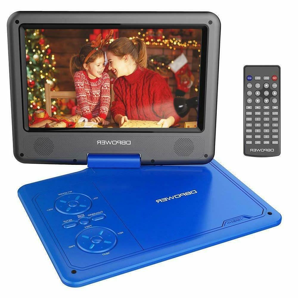 new 9 5 portable dvd player w