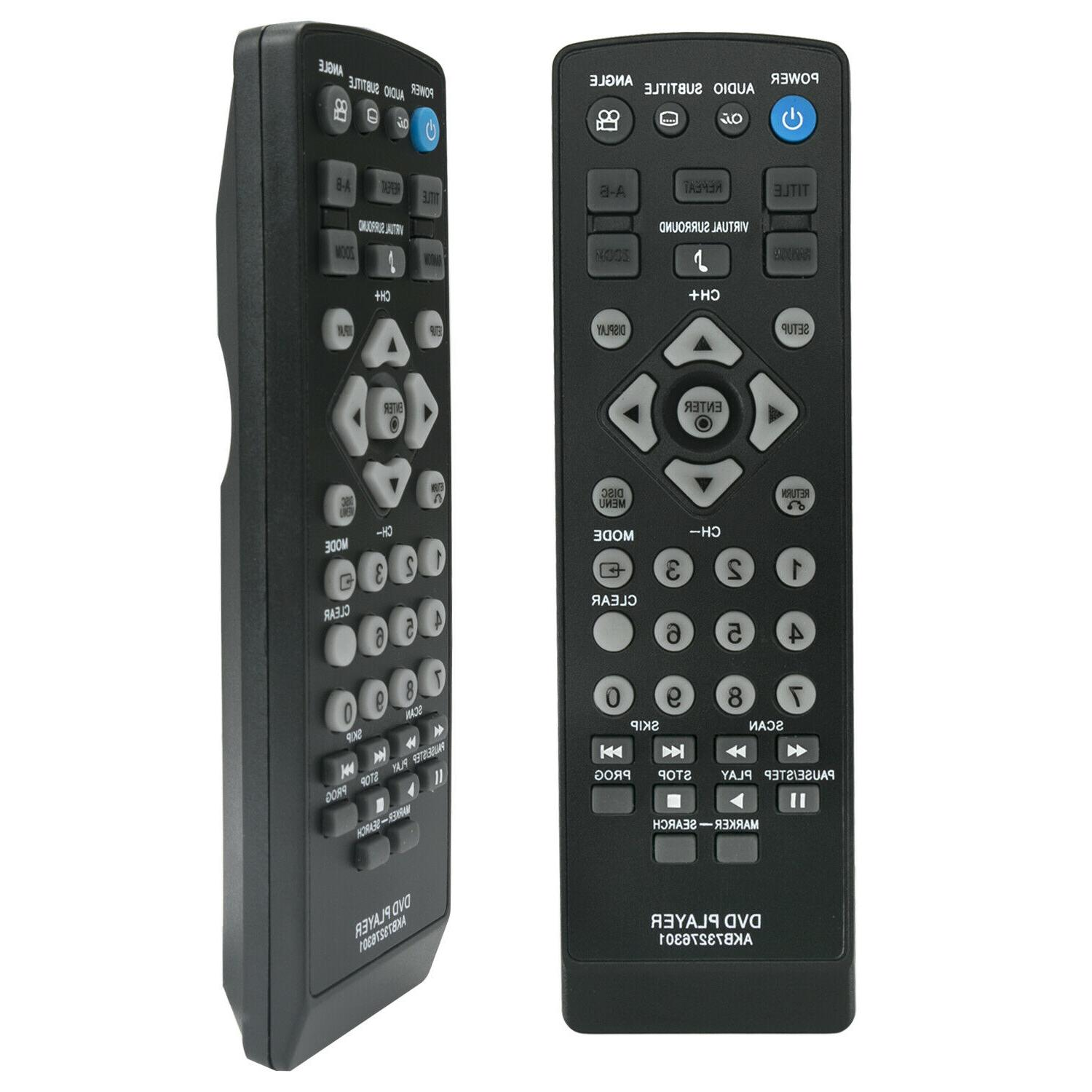 New DVD Control for LG
