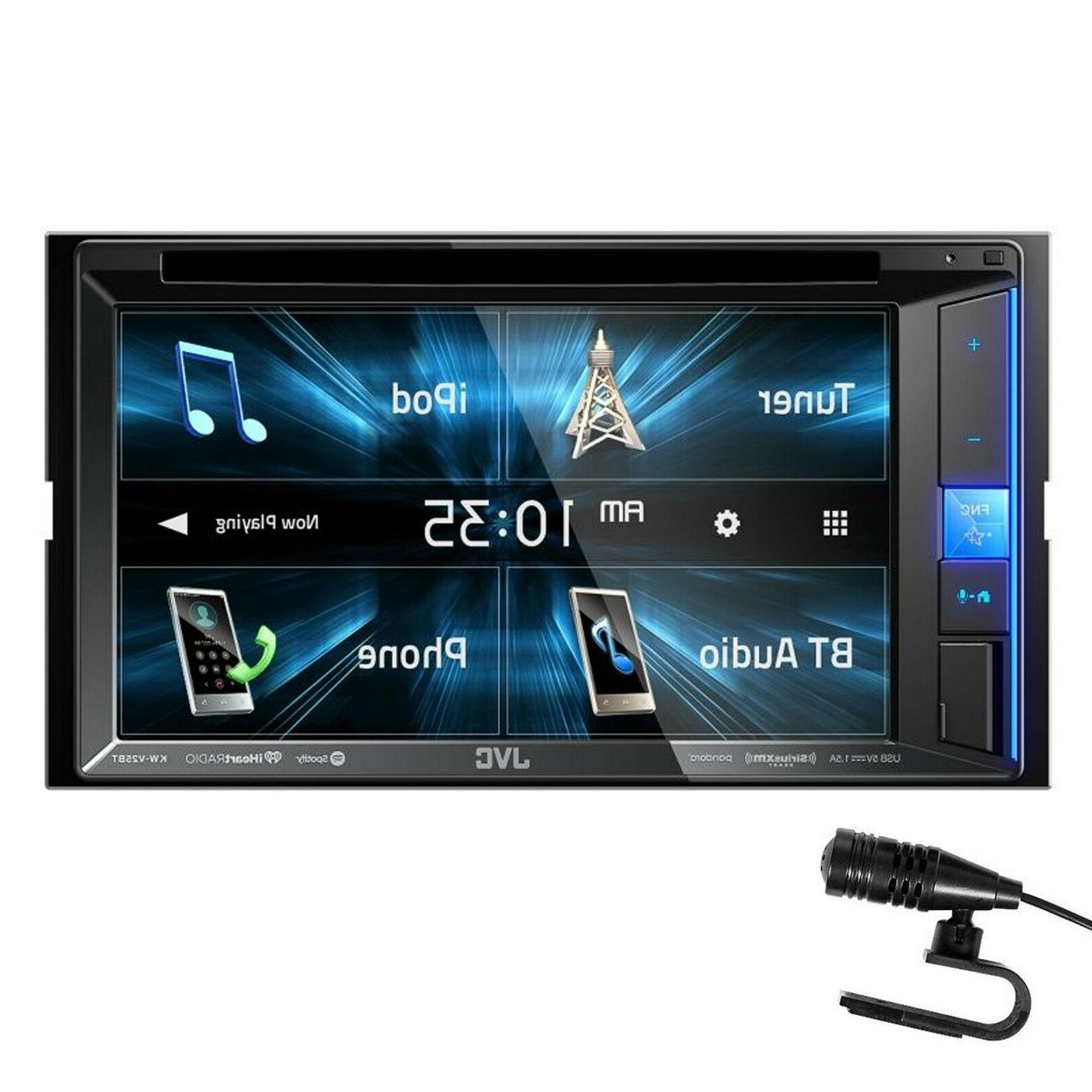 new kw v25bt 6 2 touchscreen double