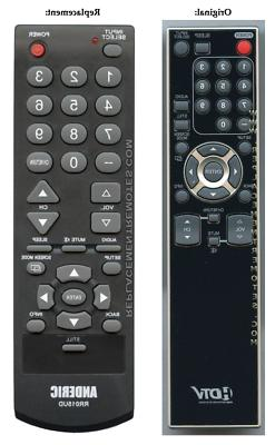 Original Funai NF015UD TV Replacement Remote Control by Ande