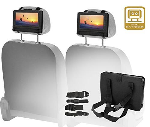 Koramzi Screen DVD Rechargeable Battery/ AC AV Card Reader/ Remote Car Ready/ USB Mounting Kit