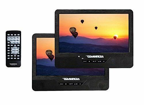portable dual dvd player