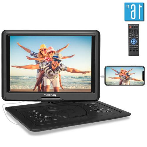 portable dvd player with 15 6 large