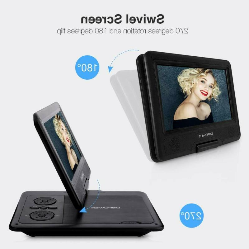 """DBPOWER with 9.5"""" Swivel Screen,"""