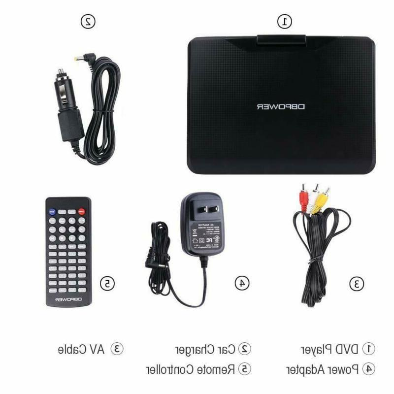 """DBPOWER Portable DVD with 9.5"""" 5-Hour"""