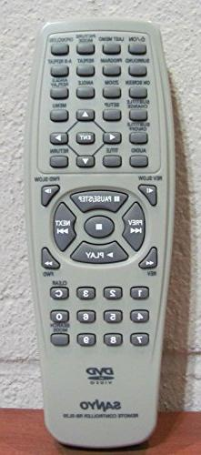 Sanyo RB-SL20 Original DVD Player Remote for DVDSL20 and DWM