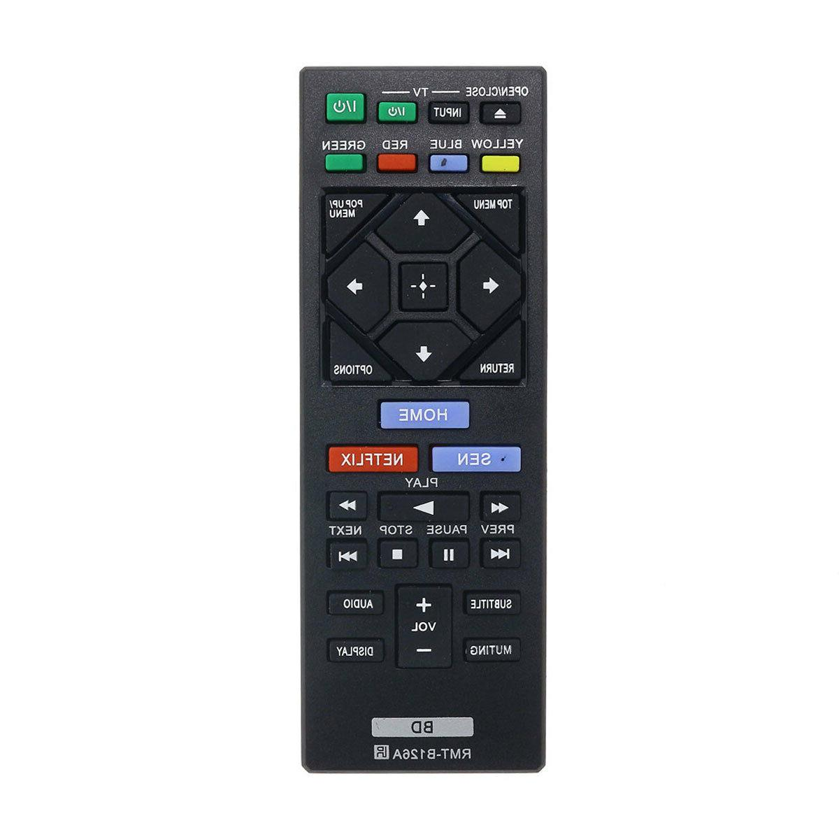 remote control for sony dvd blu ray
