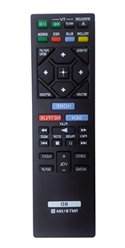 New Replacement Remote Control RMT-B126A for SONY Blu-Ray Di