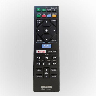 Remote Control Replacement For Sony Blu-ray DVD Player BDP-S