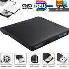 Slim External USB 3.0 DVD RW CD Writer Drive Burner Reader P