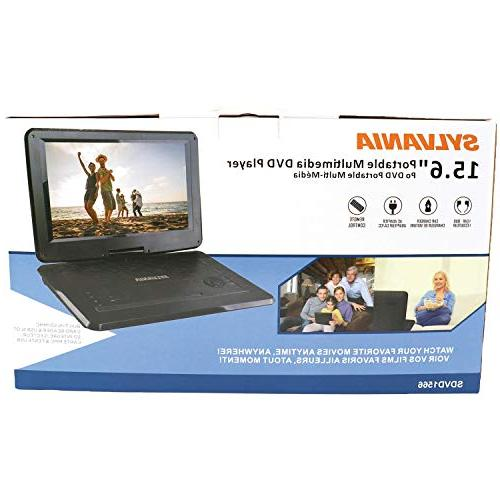 Sylvania Swivel Portable USB Slot & Battery