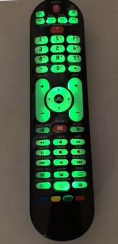 TV DVD-player Universal Remote by USARMT - Backlit Glow! Wor