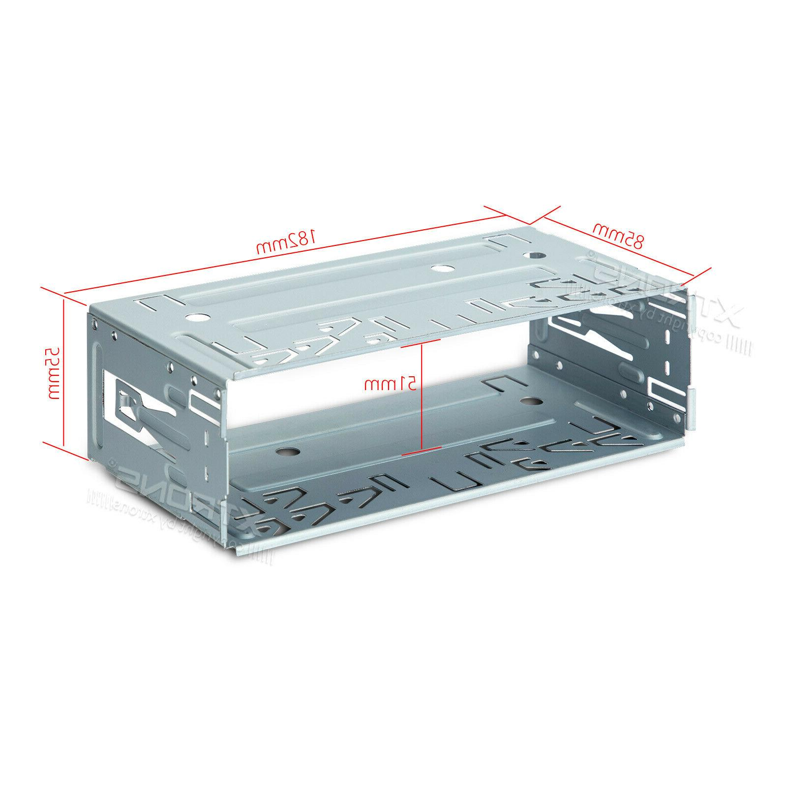 Universal Single 1 Car DVD Player Fitting Cage Kit
