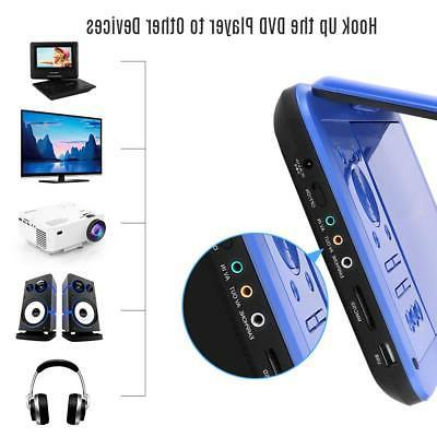 【Upgraded】 Portable Player with HD Swivel Supports