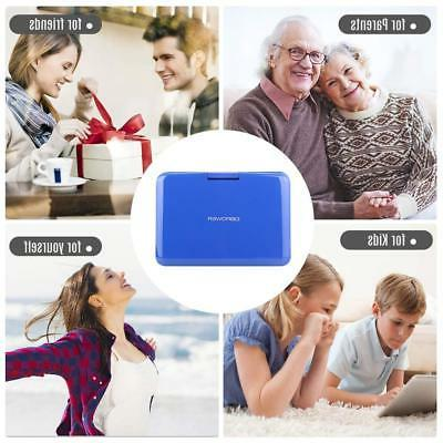 【Upgraded】 Portable DVD Player 10.5'' Swivel Supports ...