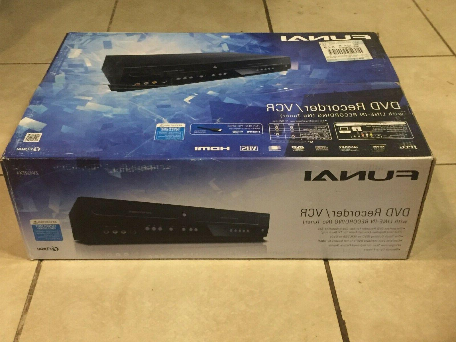 zv427fx4 new vcr and dvd recorder player