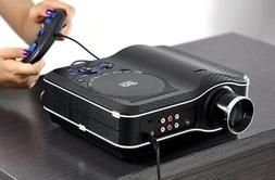 LED PROJECTOR WITH DVD PLAYER 800X600 30 LUMENS 100:1 Contra