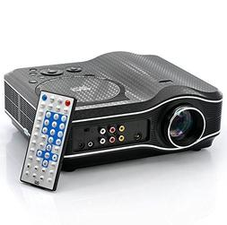 LED Projector with DVD Player - 800x600, 30 Lumens, 100:1