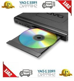 Compact HD DVD Player with Multi-Regions 1/2/3/4/5/6,USB Por