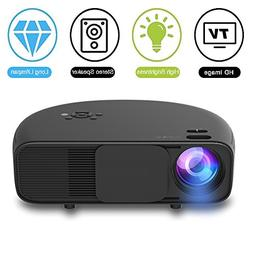 1080P HD LED Video Projector, Weton 3500 Lumens Video Projec