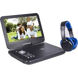 "Onn ONA17AV048 10"" Portable DVD Player w/ Headphones"