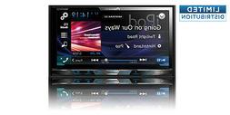 "Open-Box: Pioneer - 7"" - Built-in Bluetooth - In-Dash CD/DVD"