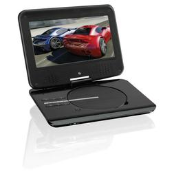 GPX PD901B 9-inch LCD Swivel Screen Rechargeable Portable DV