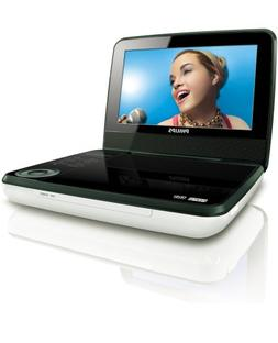 Philips PET741/37 Portable DVD Player with 7-Inch LCD, White