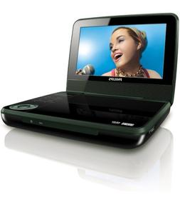 Philips PET741B/37 Portable DVD Player with 7-Inch LCD, Blac