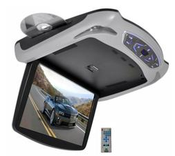 Pyle PLRD145 13.3-Inch Roof Mount Monitor Multimedia System