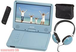 "Encore 9"" Portable DVD/CD Player with Swivel Screen DVD901TM"