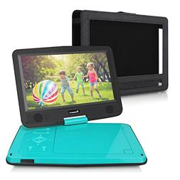 10.1 Inch HD Screen Portable DVD/CD Player for Kids with 5-H