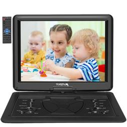 "Portable DVD Player 16"" Large Swivel Screen 1366*768 HDMI US"