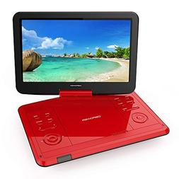 "DBPOWER 12.1"" Portable DVD Player with Rechargeable Battery,"