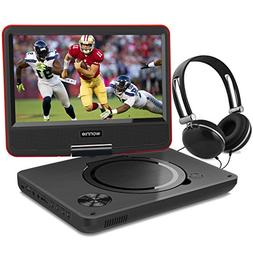 9.5 Inch Portable DVD Player for Kids with Swivel Screen, US